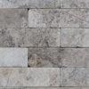 """Mosaik aus Travertin """"5,0x15,0 Ice"""" Ciottolo"""