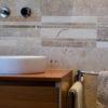 "Mosaik aus Travertin ""Bars HF Tuscany Mix"" Moderno"