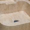"Travertine sink ""Double"""