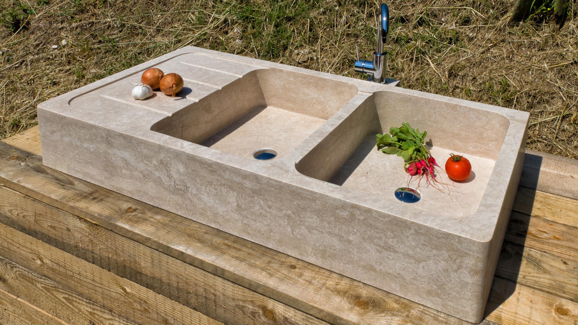Travertine Sink Country Pietre Di Rapolano