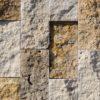 "Travertine mosaic ""5.0x10.0 Multicolor"" Split"