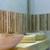 "Mosaik aus Travertin ""Planks Tuscany Mix"" Moderno"