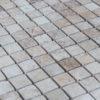 "Mosaik aus Travertin ""2,5x2,5 Multicolor"" Rustico"