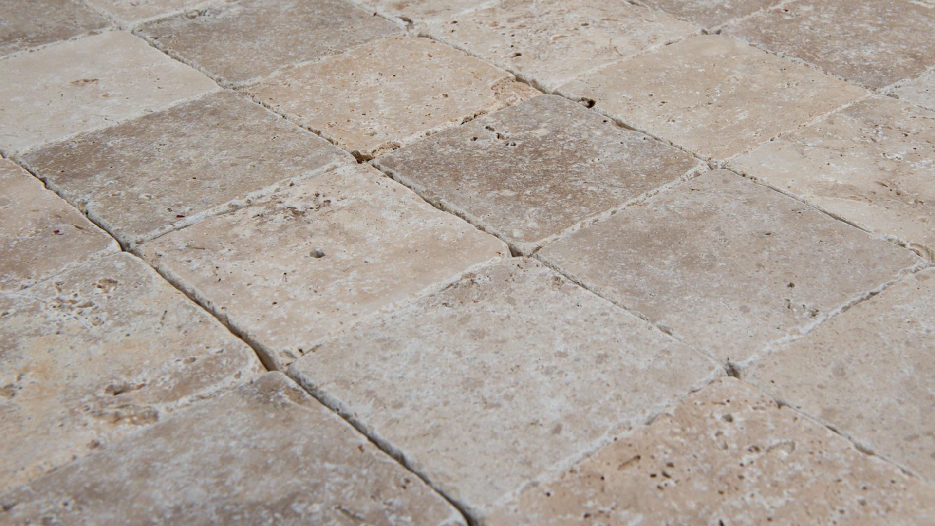 Piastrelle cemento per esterni con pavimento in cemento stampato