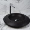 """Round basalt washbasin """"Enterprise BS"""""""