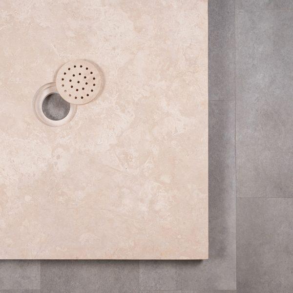 """Piatto doccia in travertino """"Flat"""""""