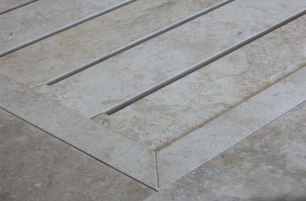 Exceptionnel Arredo Bagno in pietra naturale CG74