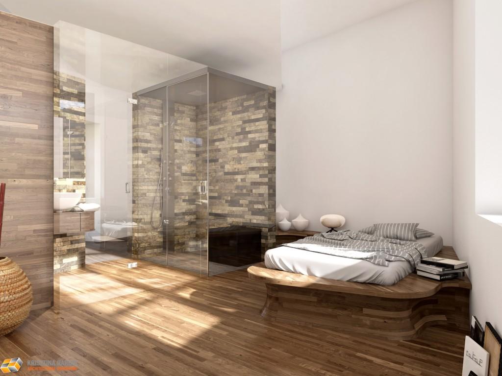 Pavimenti in finta pietra per interni - Bagno finta muratura ...