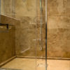 "Cross-cut travertine ""Leather Brown"""
