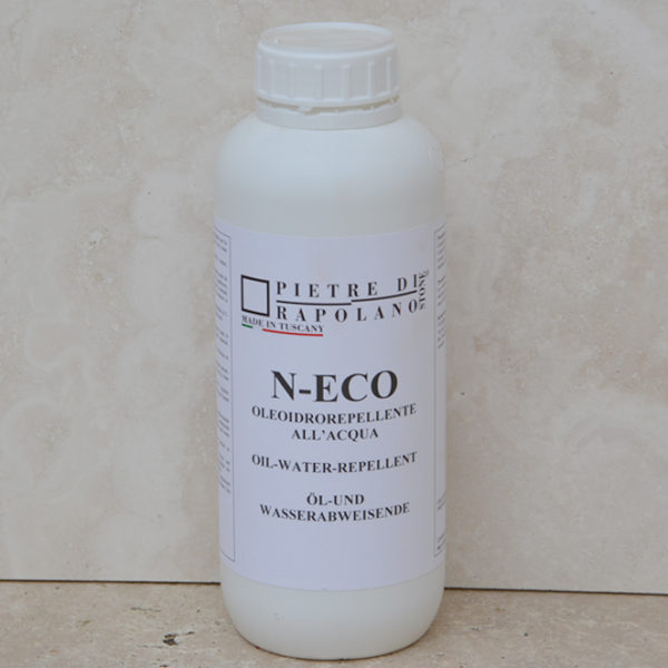 """N-Eco"" water-based treatment for travertine"