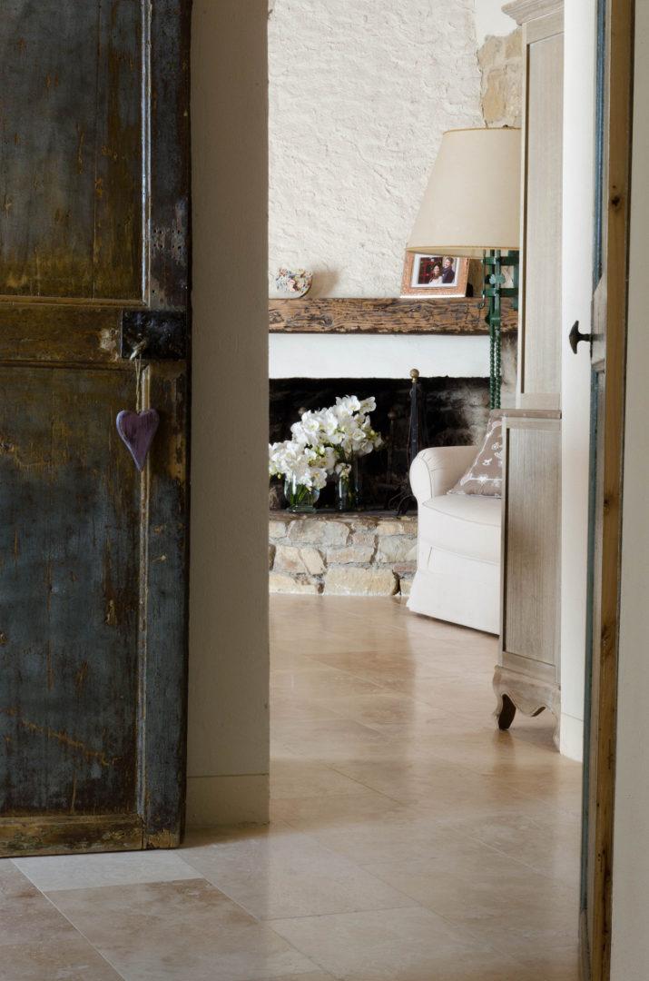 Boden Und Wande Aus Travertin Fur Innenbereich Pietre Di Rapolano