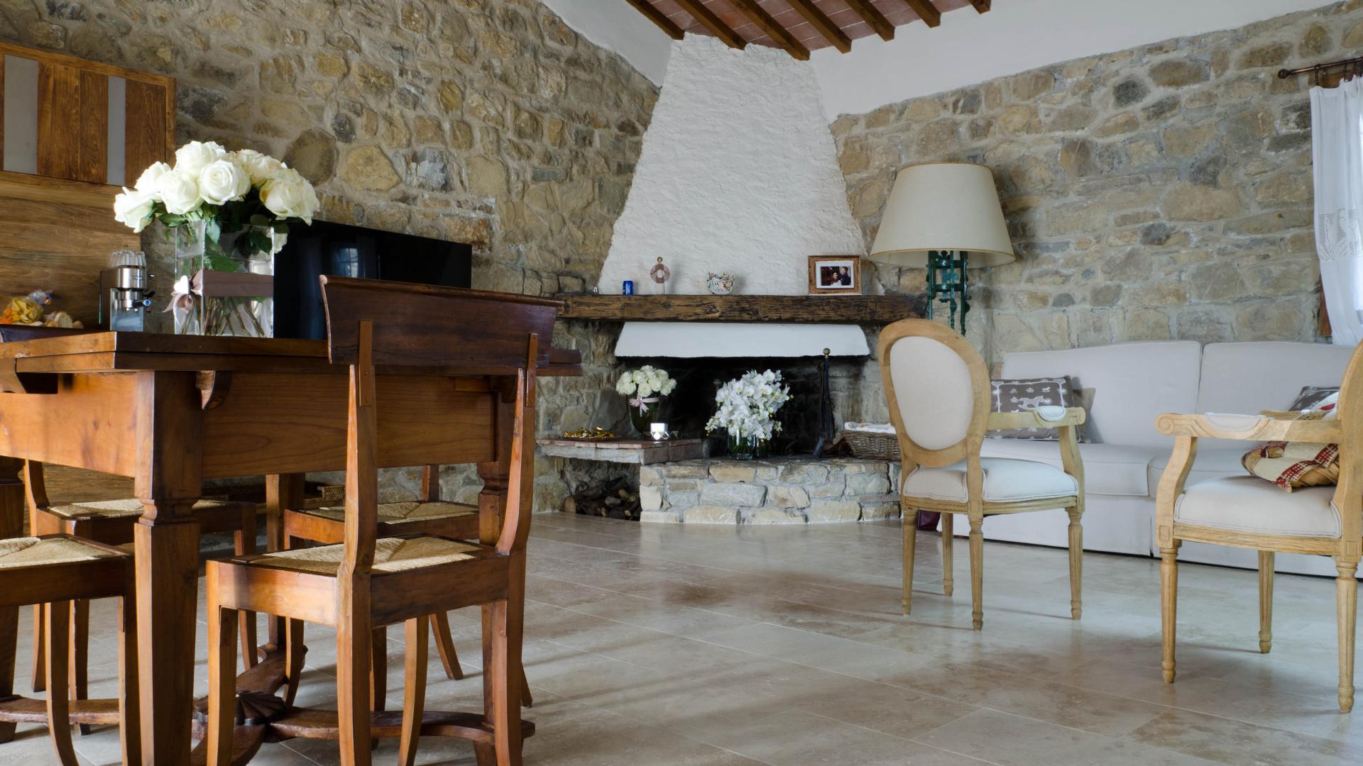 Case Di Campagna In Pietra : Progetto casa colonica nella campagna toscana pietre di rapolano
