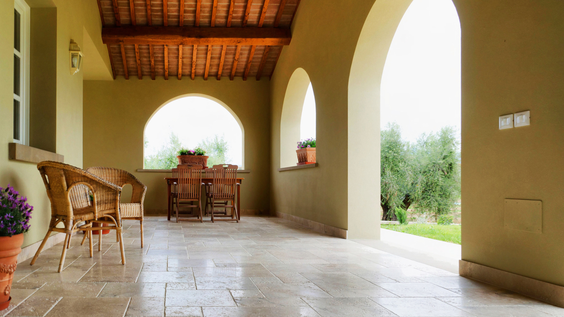 Foto von Villa in Bolgheri von Pietre di Rapolano