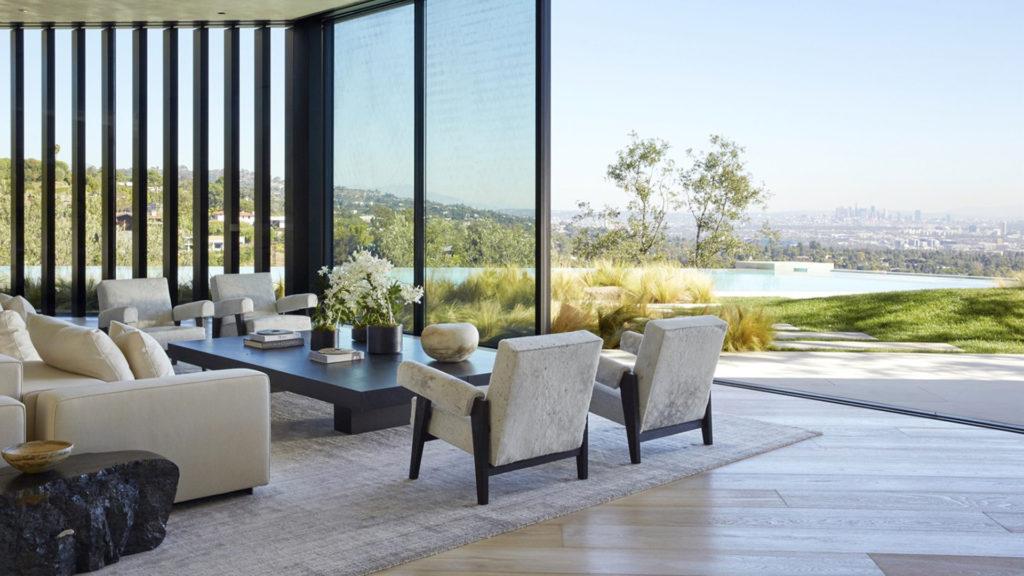 Pavimento soggiorno Villa a Bel Air