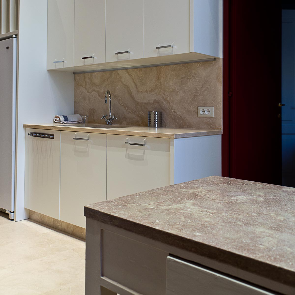 Piani cucina in pietra pietre di rapolano - Top cucina marmo prezzi ...
