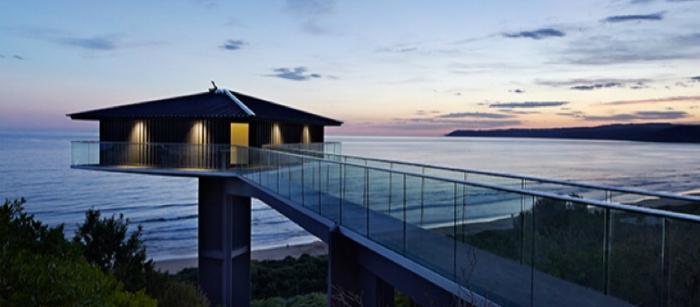 Architettura estrema pole house dixon australia