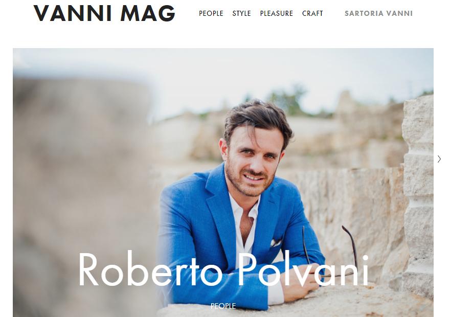 Rassegna stampa: intervista sul blog vanni mag