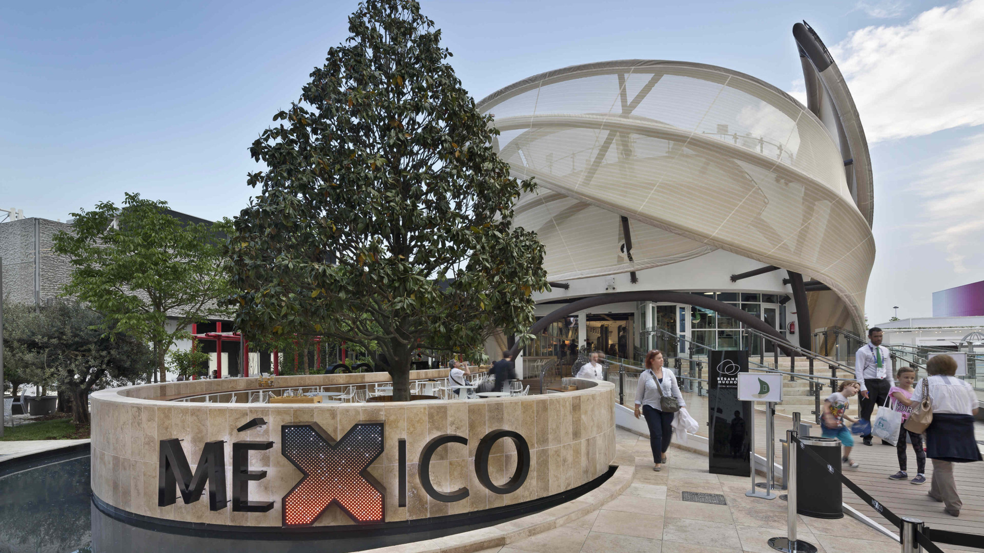Picture of Mexico Pavilion – EXPO 2015 by Pietre di Rapolano