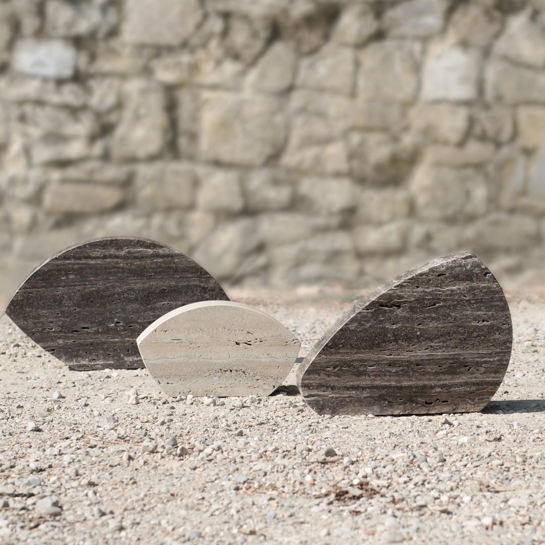 Cersaie 2016: installazione di travertino Pietre di Rapolano