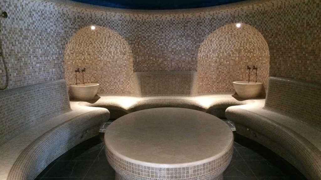 Particolare all'interno dell'hammam