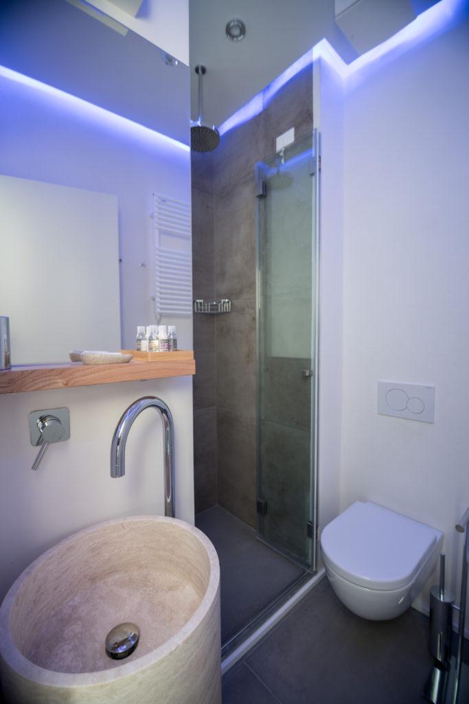 Particolare bagno - Relais Luce