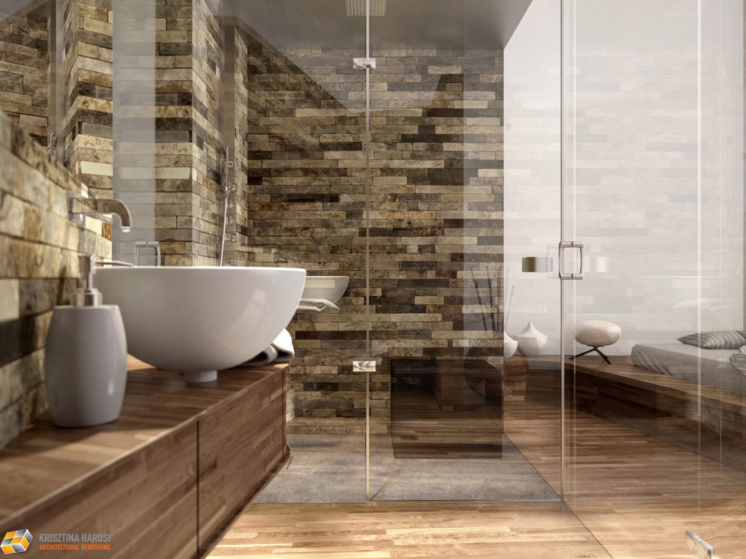 Come lavoriamo progetto di box doccia pietre di rapolano - Piastrelle pietra bagno ...