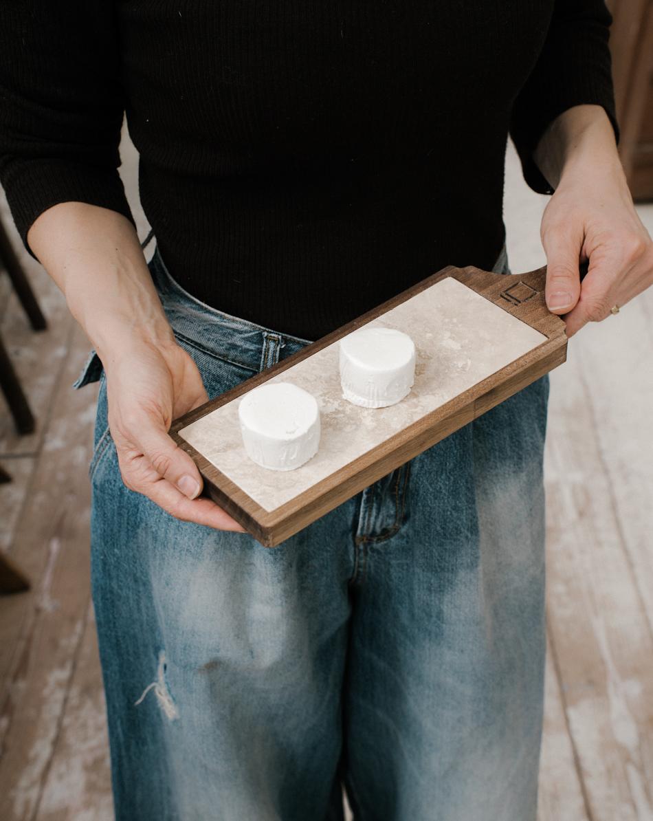 Tagliere in marmo per la cucina