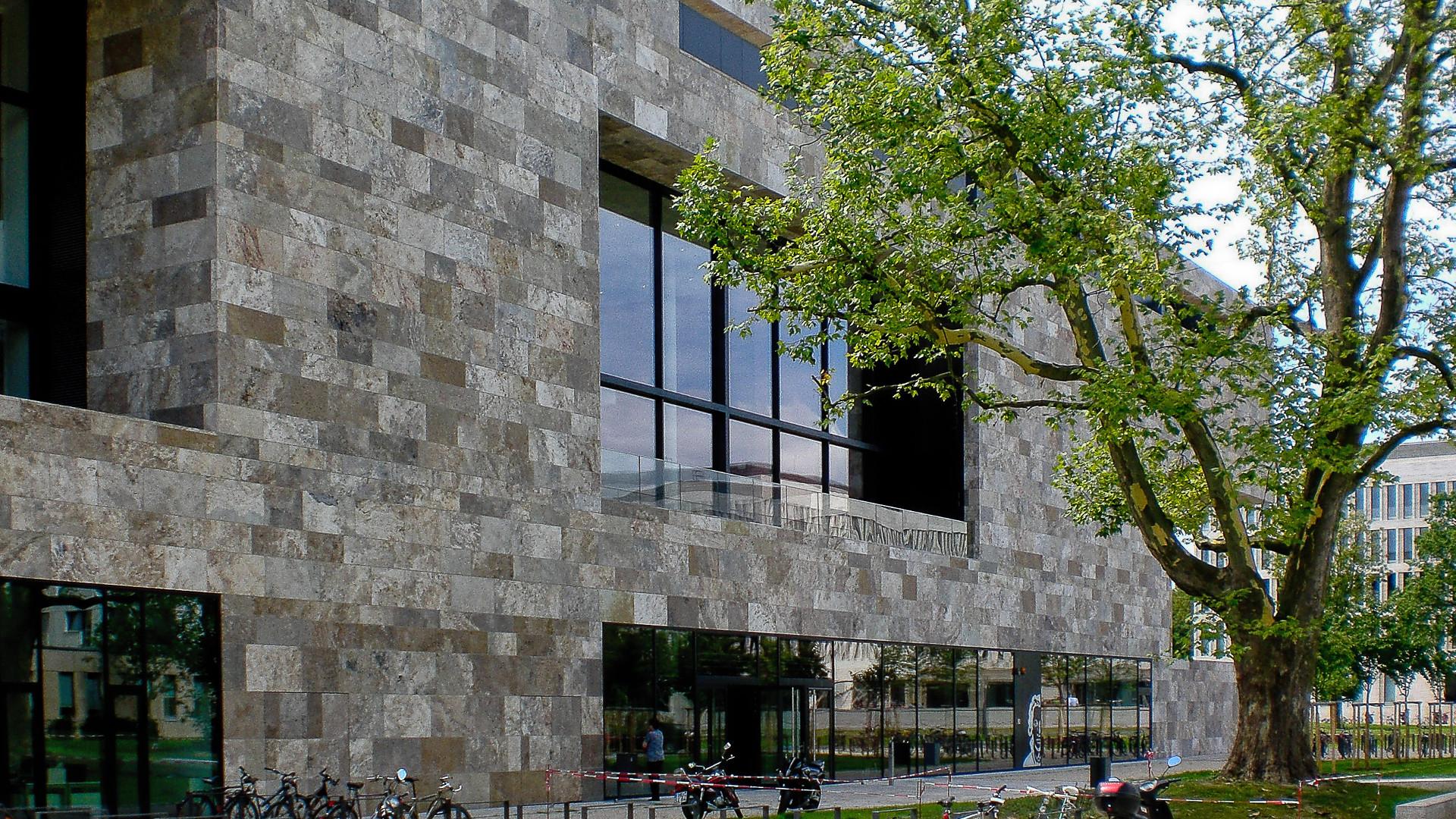 Progetto facciata per Università di Francoforte