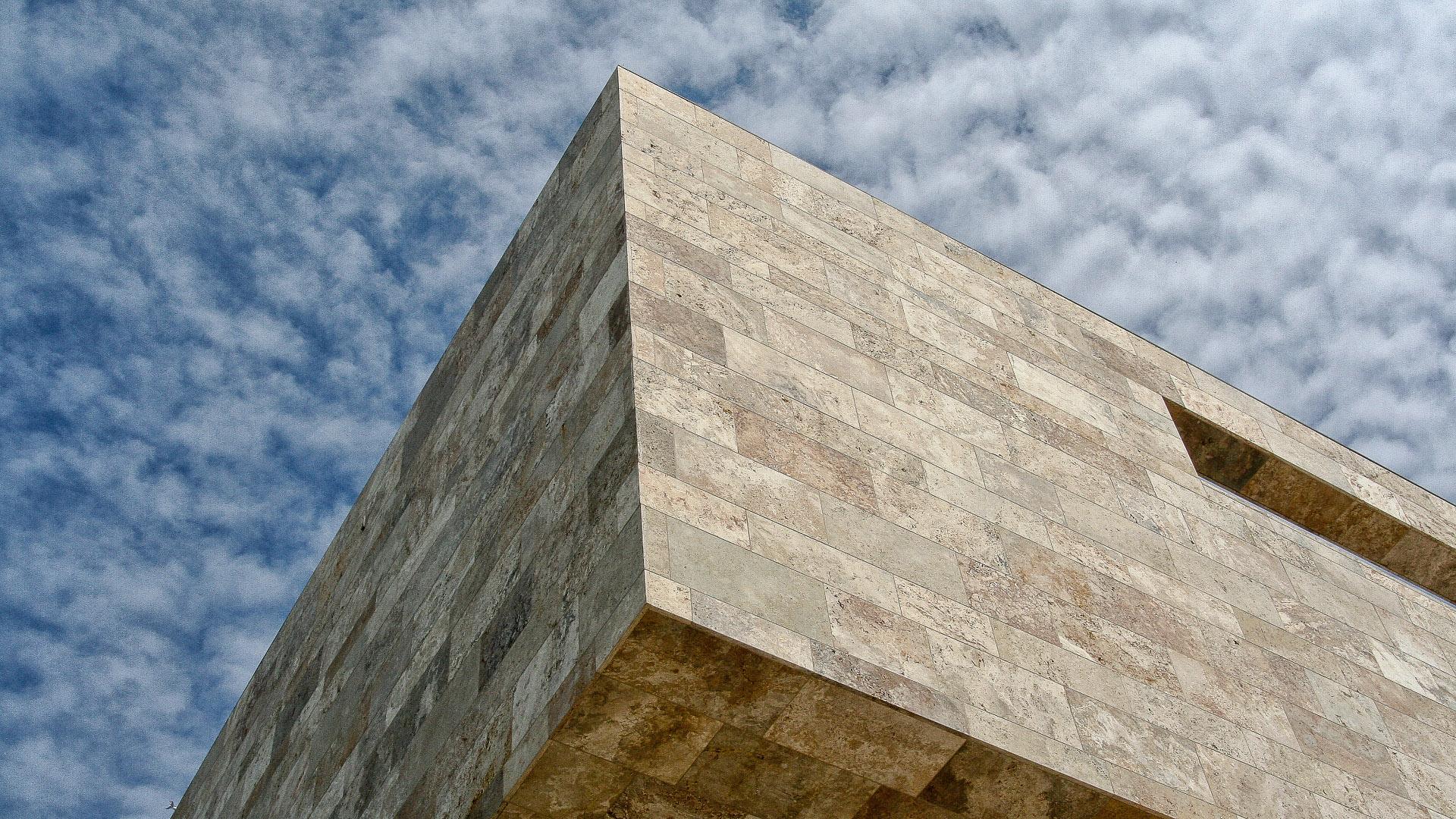 Progettazione facciata per Università di Francoforte