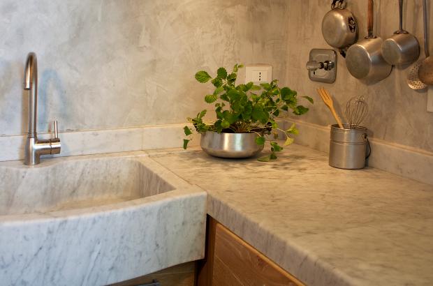 Lavelli cucina in pietra e travertino - Pietre di Rapolano