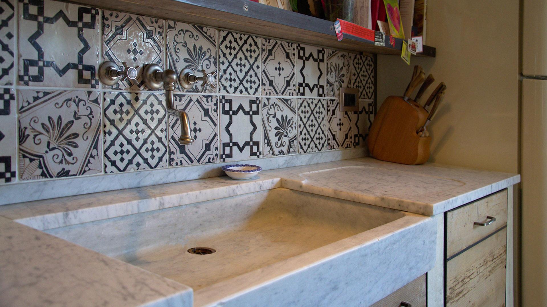 Lavelli cucina in pietra pietre di rapolano - Lavelli cucina in pietra ...