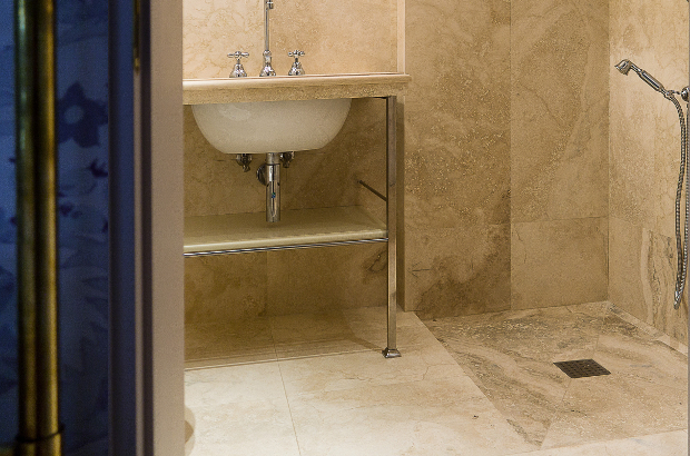 Picture of Stone shower trays by Pietre di Rapolano
