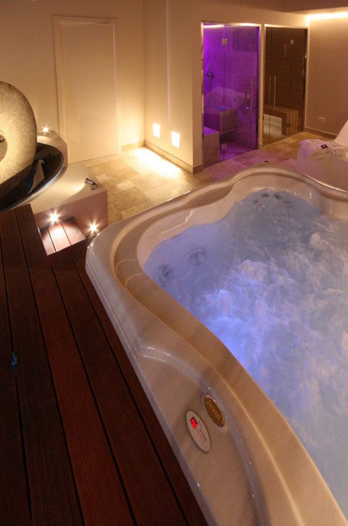 Spa piscine travertino pietre di rapolano