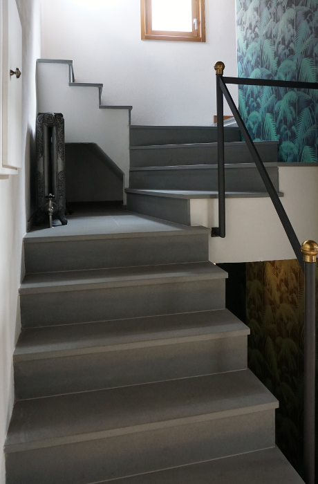 Picture of Stairs by Pietre di Rapolano