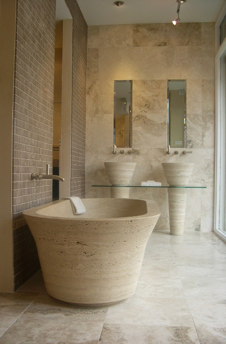 Picture of Bathtubs by Pietre di Rapolano