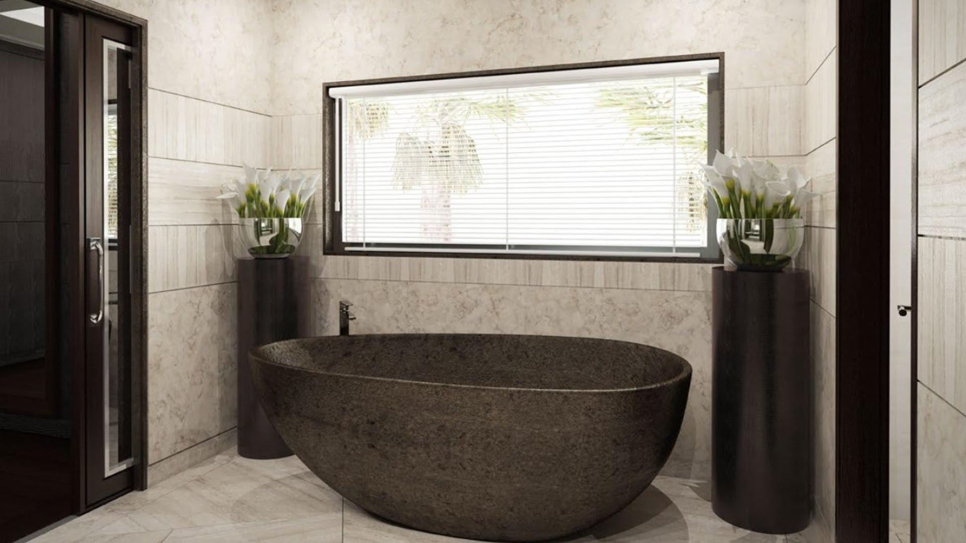 Vasche da bagno in pietra pietre di rapolano - Vasca da bagno in pietra ...