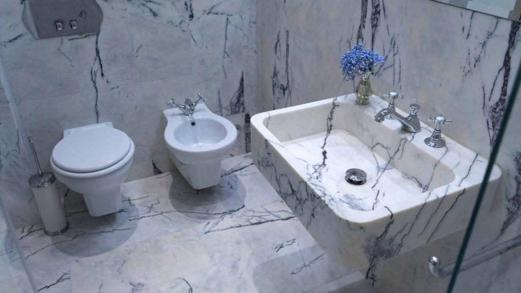 Lavabi bagno travertino pietre di rapolano