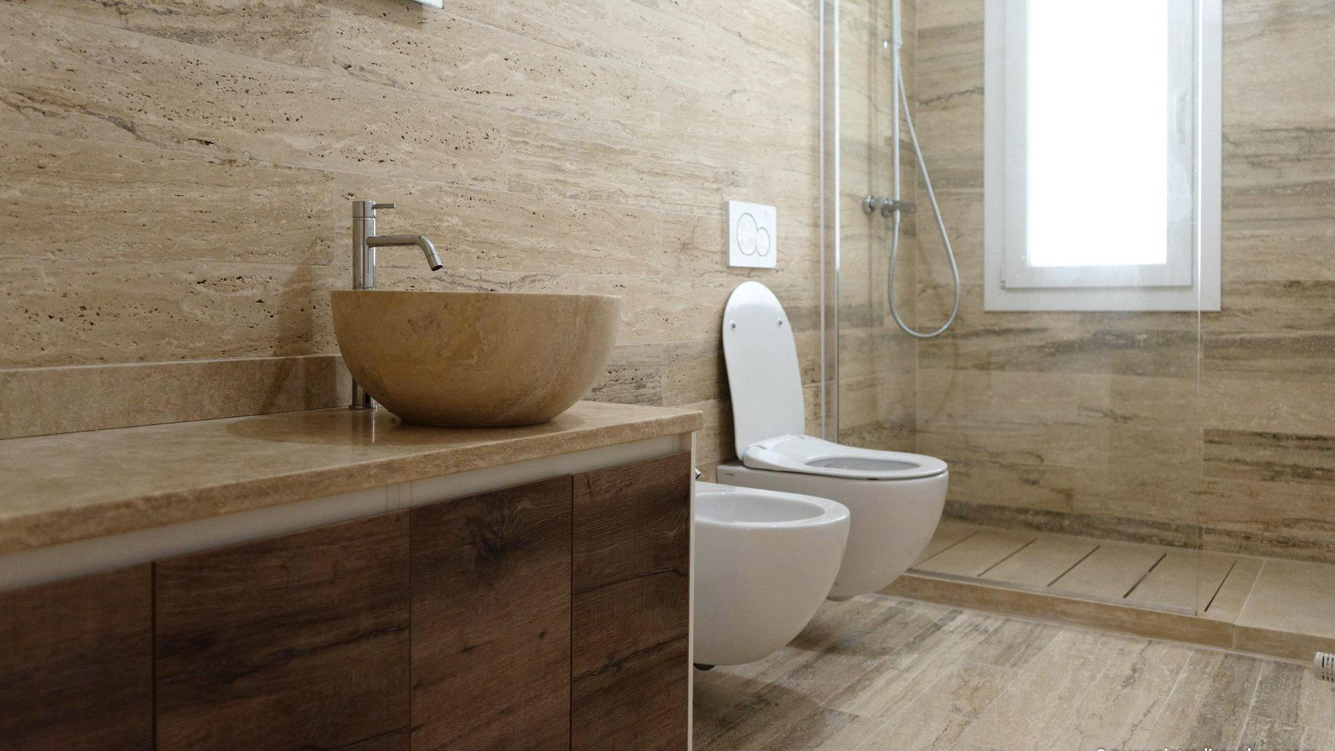 Design Bagno Poggio Piccolo : Lavabi bagno travertino pietre di rapolano