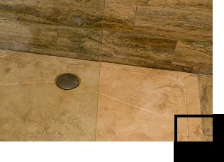 Piatto doccia in pietra naturale