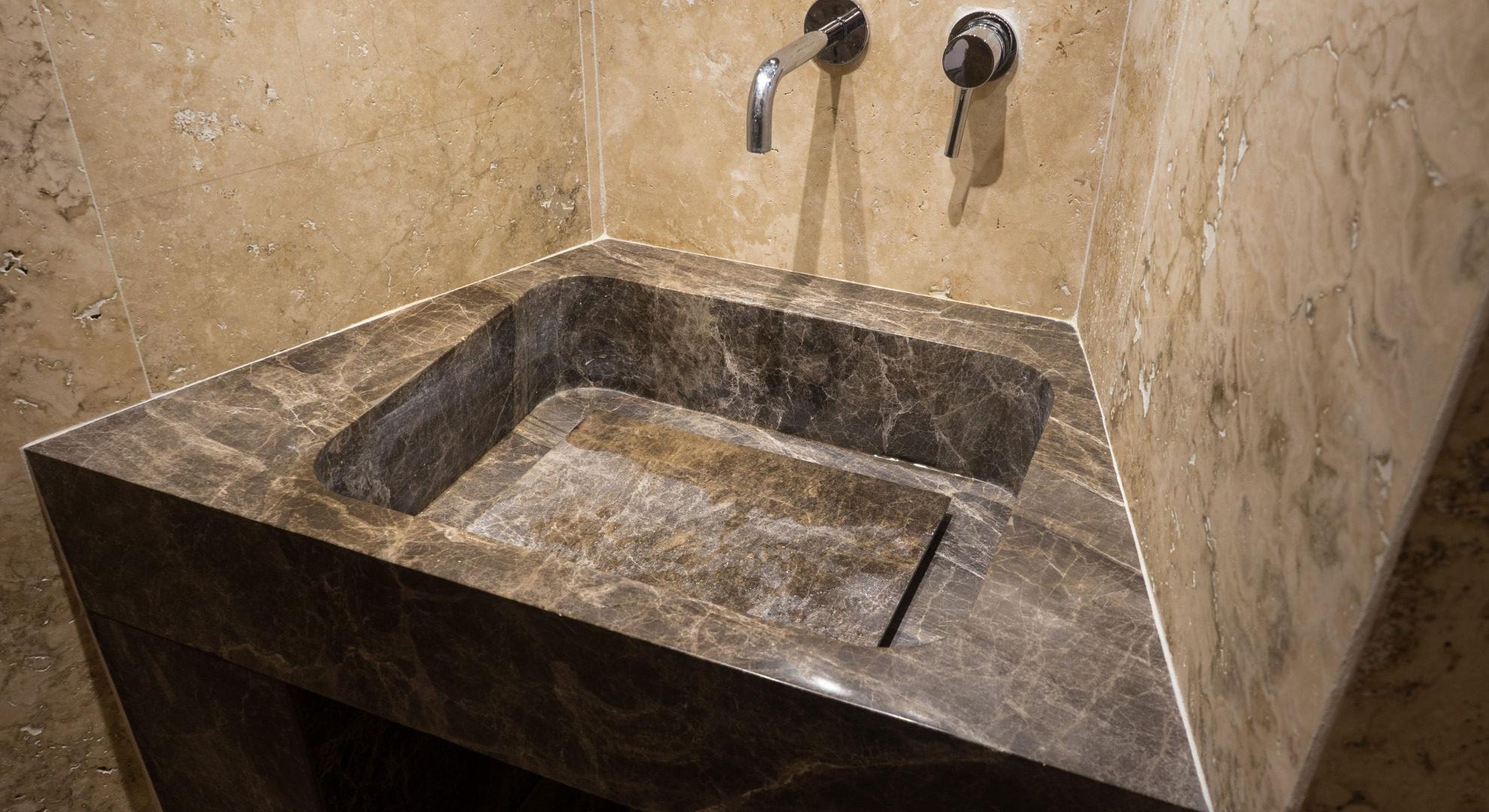 Lavabo pietra prezzi lavabo da appoggio in marmo cipi