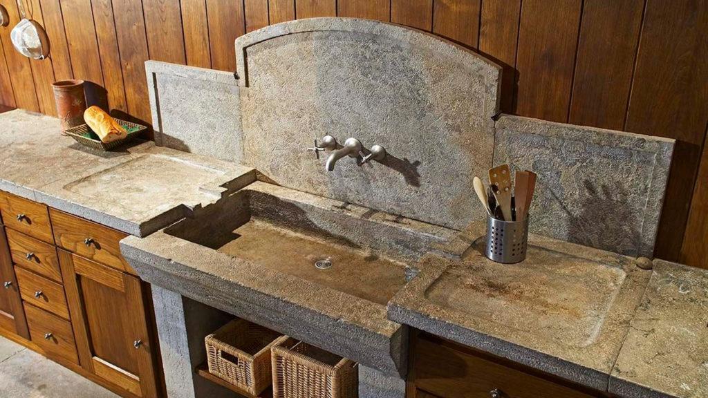 Piani cucina travertino pietre di rapolano