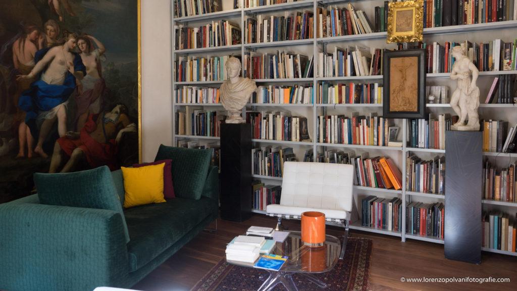 Residenza privata di un antiquario - studio