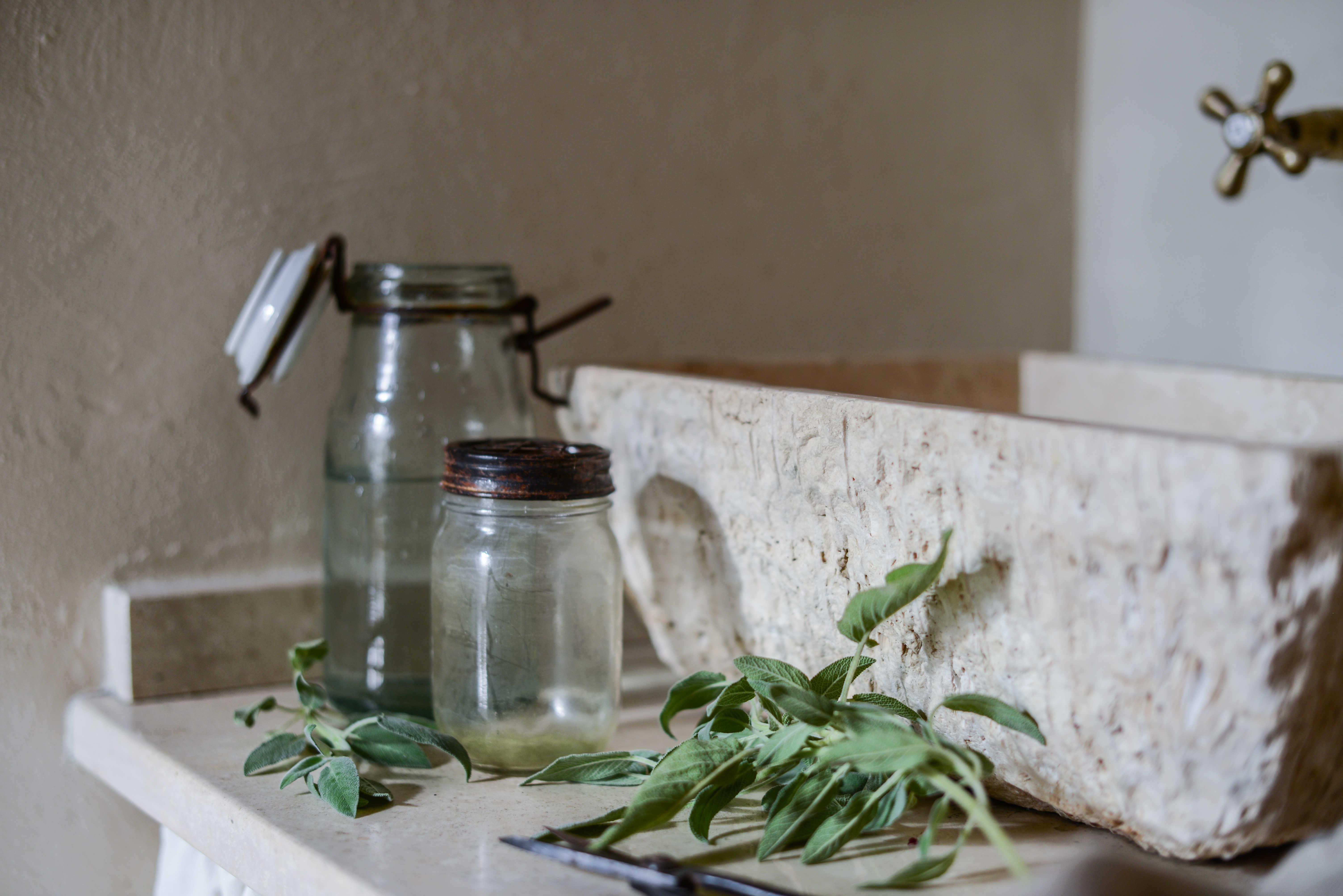 Pilozzo - lavabo travertino pietre di rapolano per valdirose