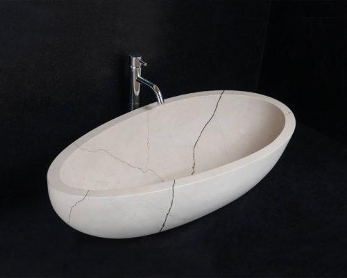 Lavabo per bagno modello eye nel particolare marmo zecevo jpg