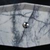 """Lavabo rettangolare in marmo """"Vassoio Lilac"""""""