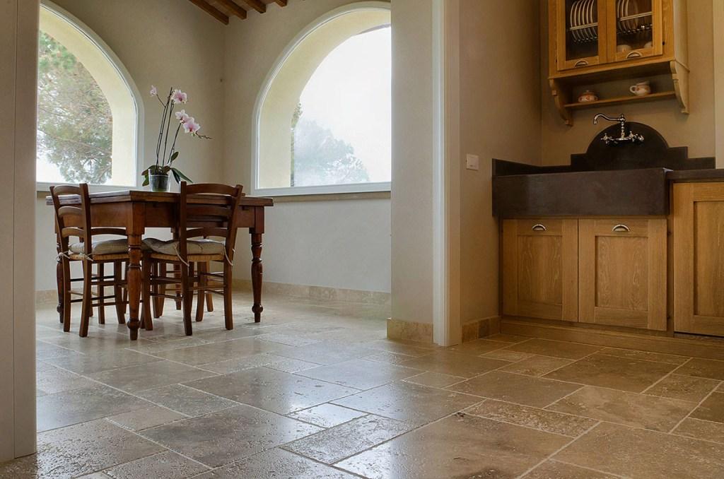 Cucina classica in pietra