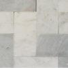 "Piastrelle ""Bianco T 7.5x15x1"" Lucido"
