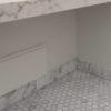 """Mosaico in marmo bianco """"Esagono 4.8"""" Lucido"""