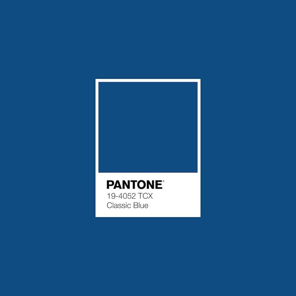 Classic blu pantone
