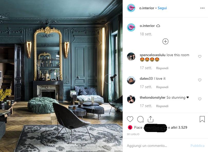 Pagine da seguire su instagram arredamento